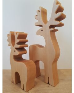 Rentiere Holz